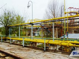 Газова тръбна естакада- Гюргево (1)