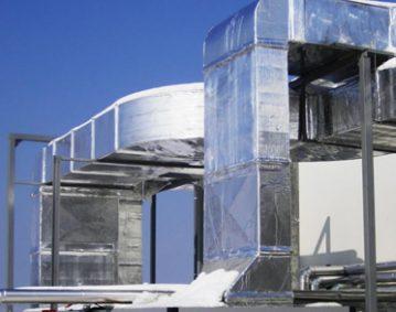 Изграждане на въздуховоди в Септона