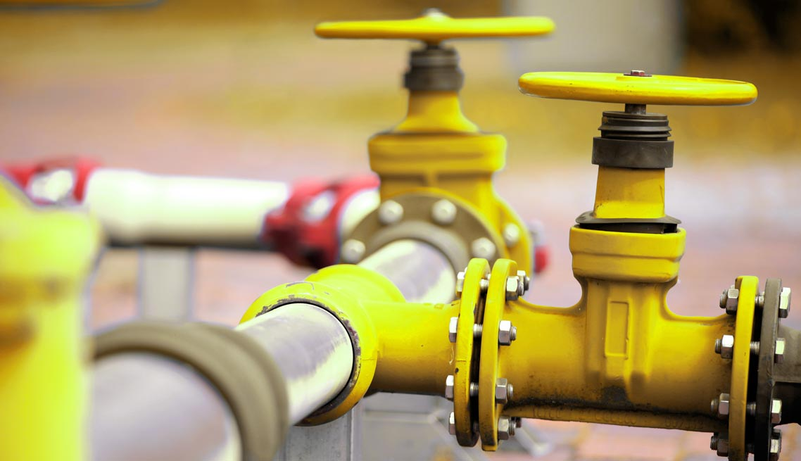 Инсталации на природен газ