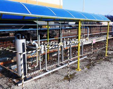 Газова инсталация в Тракция АД (1)