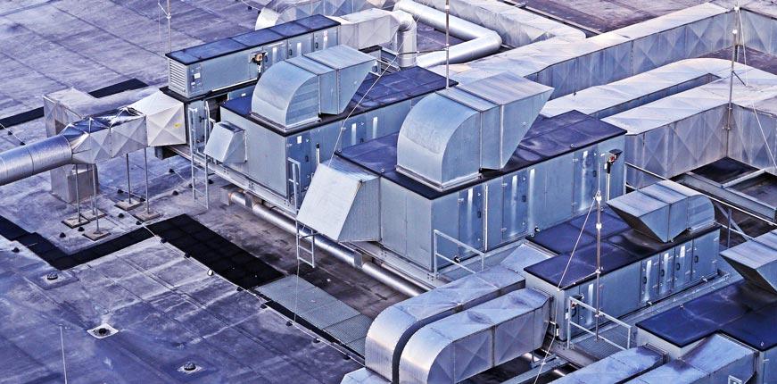 Индустриално отопление с топловъздушни апарати